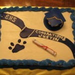 Enterprise High School Graduation Cake