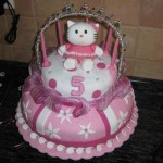 Hello Kitty 5th Birthday Cake
