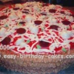 Pizza Cake Picture